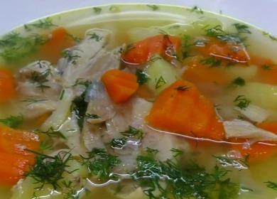 Рецепт вкусного диетического 🥝 супа