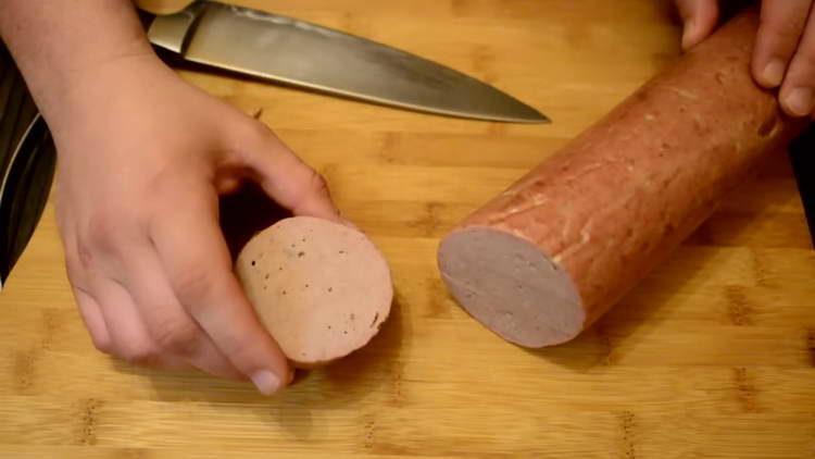 докторская колбаса в домашних условиях
