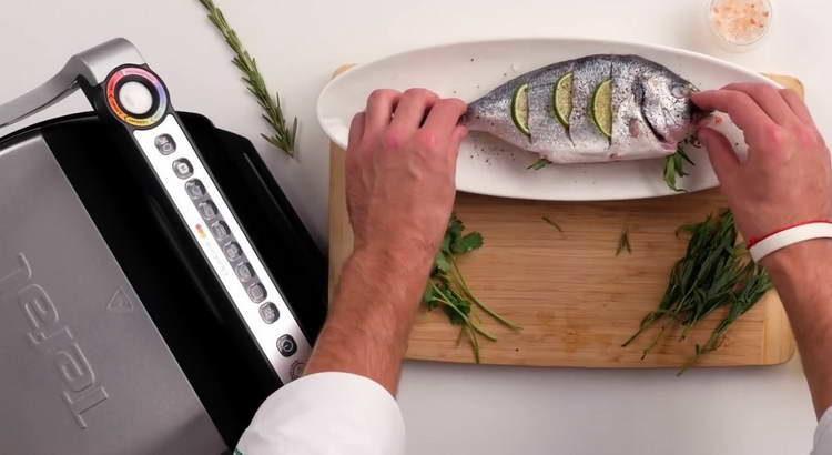 оставляем мариноваться рыбу