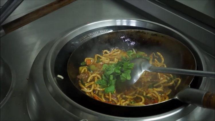 жареный лагман рецепт