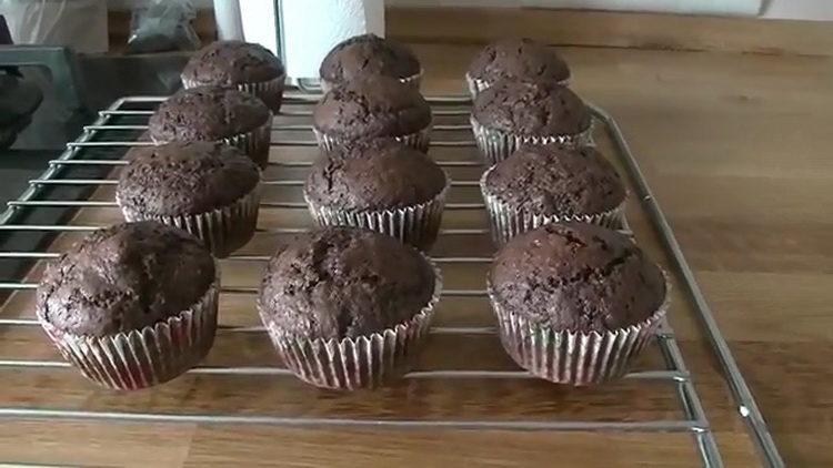 Самые вкусные шоколадные капкейки по рецепту от Энди Шефа