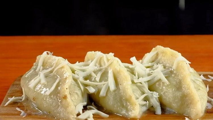 Вкусные колдуны из картофеля с фаршем