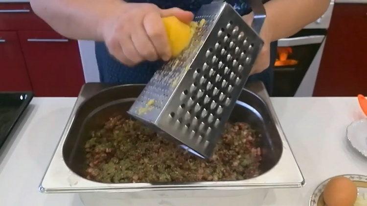 натрите картофель