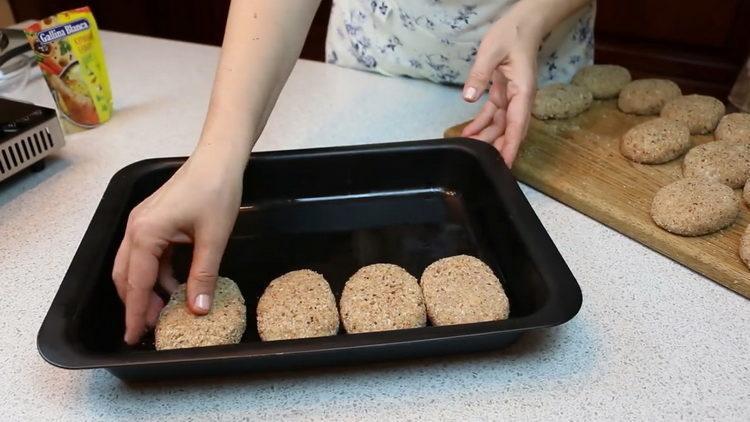 выложите ингредиенты в форму