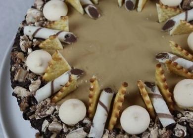 Вкусный шоколадно-кофейный 🥝 торт