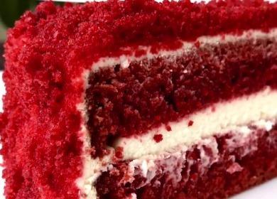Торт «Красный бархат» 🥝 по рецепту от Энди Шефа с фото
