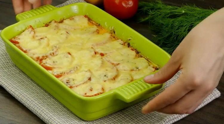 Куриная грудка с овощами в духовке по пошаговому рецепту с фото