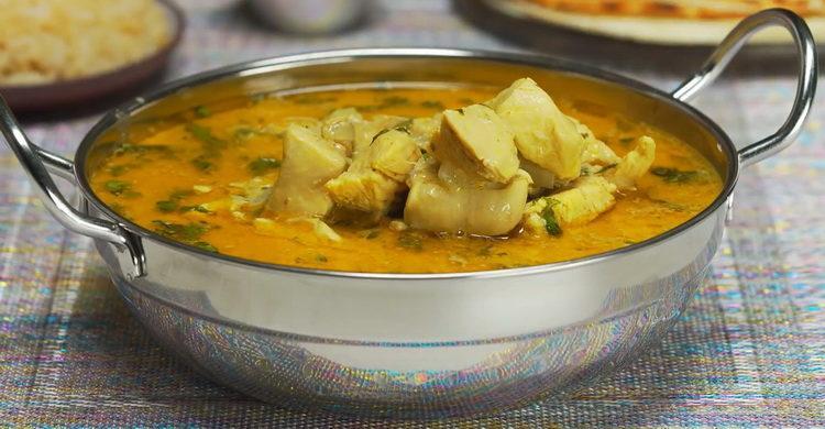 Курица карри в кокосовом молоке - индийский рецепт