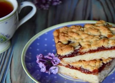Вкусный и очень простой 🥝 пирог с джемом