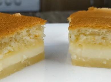 Рецепт невероятного 🥝 «Умного пирожного»
