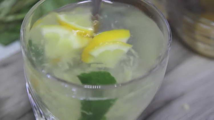 рецепт бодрящий чай