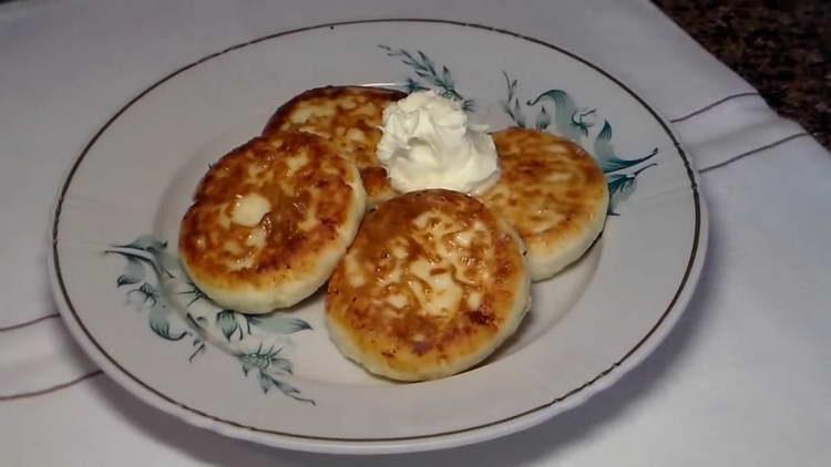 рецепт сырников из творога классические пошаговый рецепт