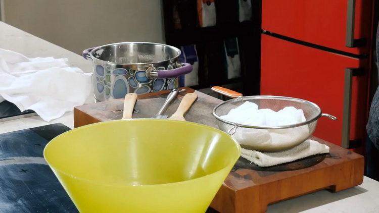 Сыр своими руками по пошаговому рецепту с фото