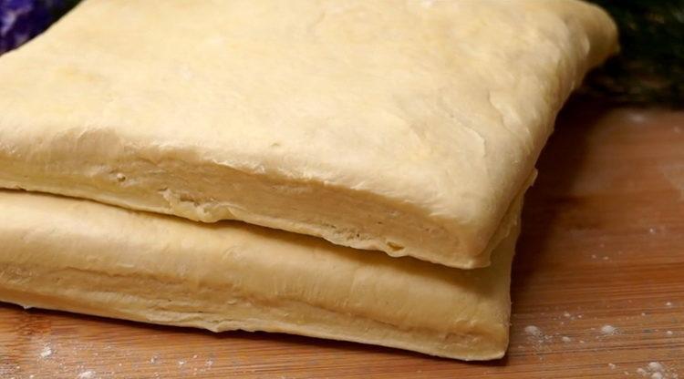 как сделать слоеное тесто