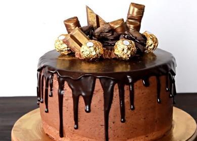 Шоколадный торт по рецепту 🥝 от Энди Шефа