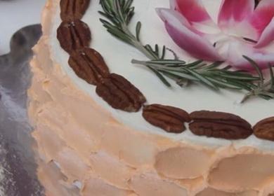Очень вкусный морковный 🥝 торт от Энди Шефа