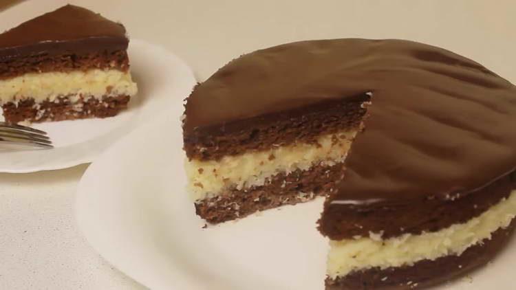 торт баунти рецепт