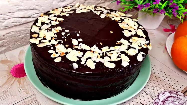 торт без яиц