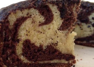 Рецепт классического торта 🥝 Зебра