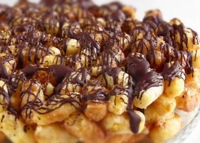 Торт из кукурузных палочек 🥝 — вкус из детства