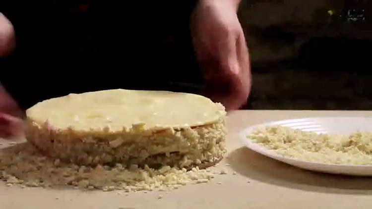 торт на сковороде со сгущенкой