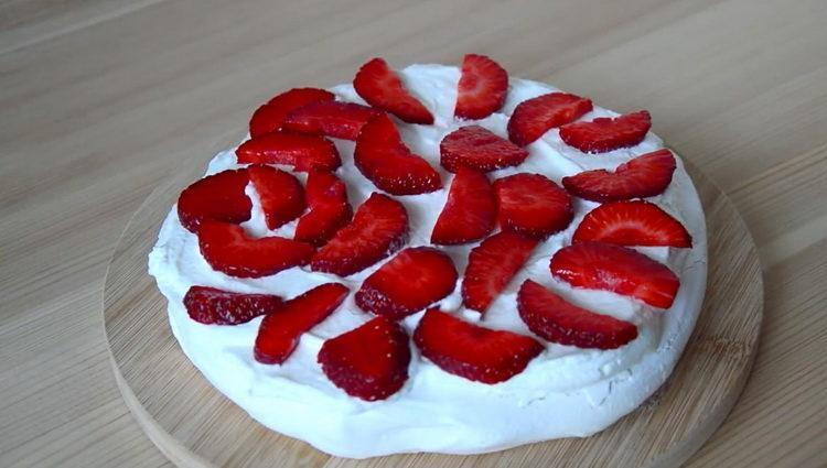выложите ягоду