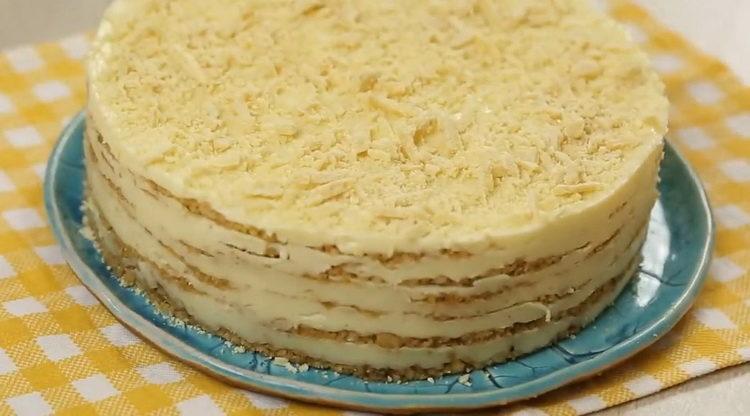 Как приготовить торт пломбир по простому рецепту