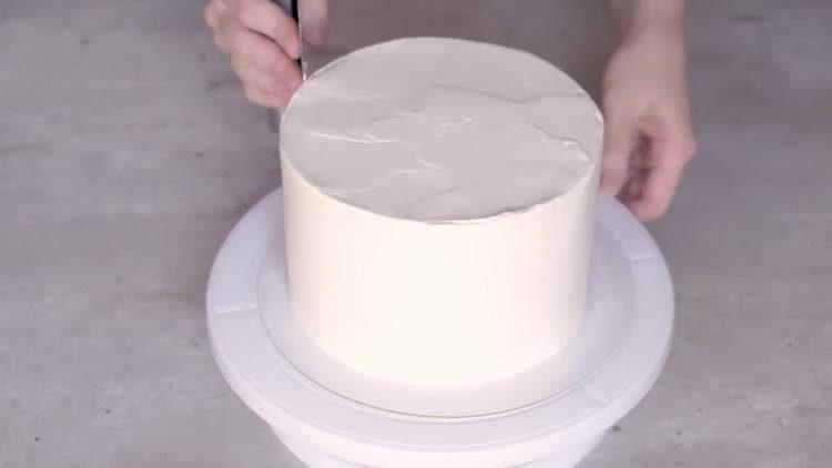 отправляем торт в холодильник
