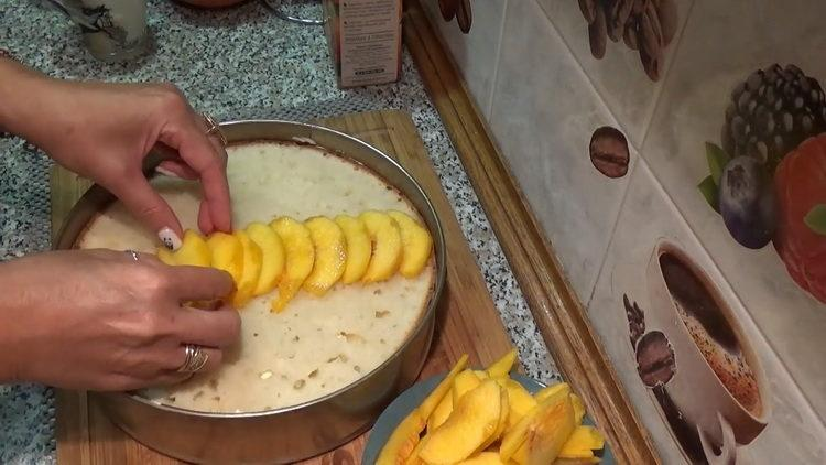 Торт с творожным кремом по пошаговому рецепту с фото