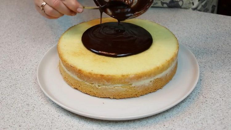 "Торт ""Чародейка"" по пошаговому рецепту с фото"