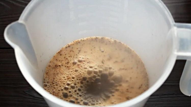 заварите кофе